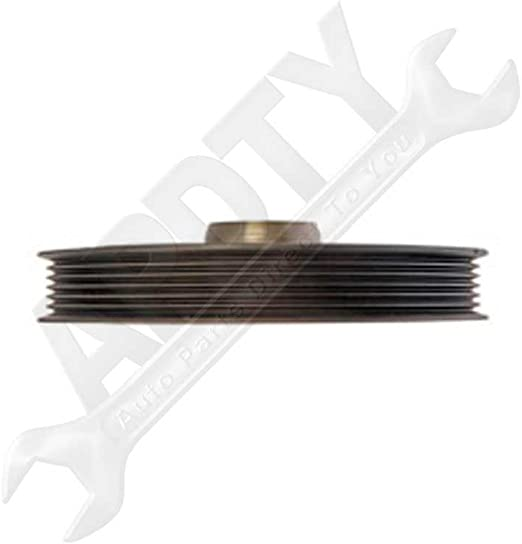 APDTY 605365 Harmonic Balancer Crank Pulley Dampener Assembly
