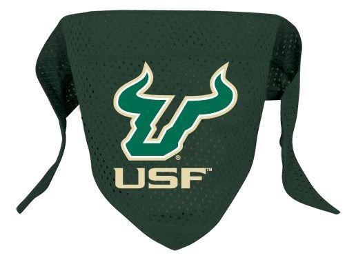 Hunter Sports Fan NCAA University of South Florida Dog Bandana-Mesh Large