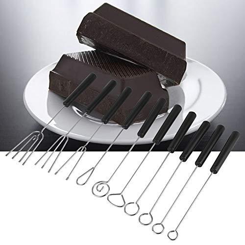 10 stuks hoge kwaliteit, dompelvork, chocolade dompelvork, PP materiaal chocoladevork, voor huis voor tuin