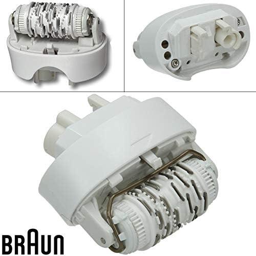 Cabezal depiladora 67030946 recambio para depiladora Braun Xpress ...