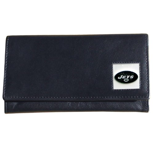 NFL New York Jets Women's Leather Wallet