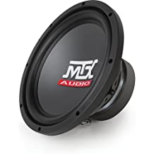 Road Thunder series 15-Inch Dual 4-Ohm Round Subwoofer (Black)