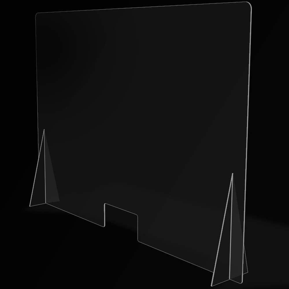 Mampara de Protección para mostradores, Policarbonato/Metacrilato Compacto 3-4 mm, Varias medidas (140cm x 100cm): Amazon.es: Salud y cuidado personal