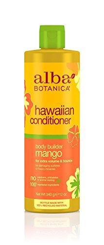 Alba Botanica: Natural Hawaiian Conditioner Body Builder Mango, 12 oz (3 pack)