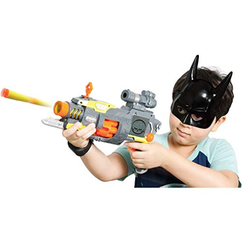 Lancador Super Lanca Dardos C/mascara Batman Baby Brink Multicor