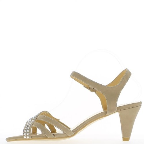 Tolle Sandalen Größe Beige 12cm Absatz