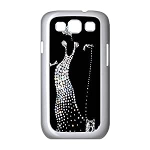 Silver Bling Customized Cover Case for Samsung Galaxy S3 I9300,custom phone case ygtg591949