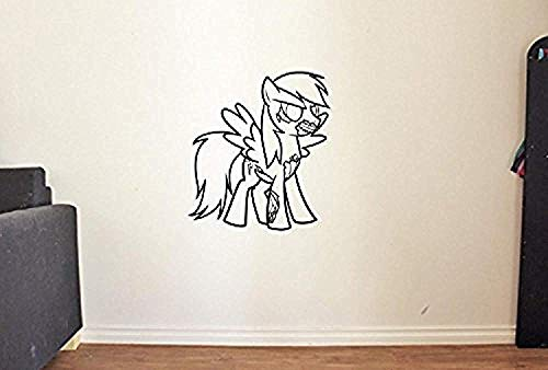 HomeDecorStore Funny My Little Pony Zombie Vinyl Wall Decal Halloween Vinyl Stickers Mural -