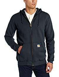 Men's Midweight Zip Front Hooded Sweatshirt K122