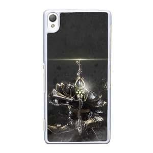 caja del teléfono celular Funda Sony Xperia Z3 funda blanca proyecto yi G2H8DI