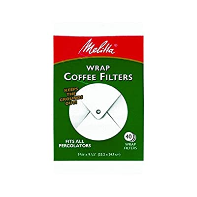 Melitta USAA White Wrap Coffee Filter