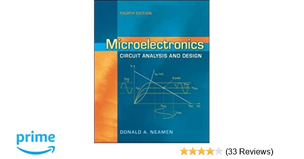 microelectronics circuit analysis and design donald a neamen