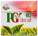 PG Tips Decaf 40 bags 3 Pack