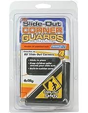 Camco 42204 RV Slide Out Corner Guards, Black