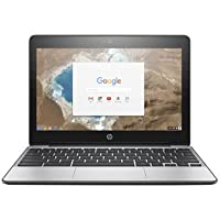 2017 newest HP 11.6 Inch Business Touchscreen Chromebook 11 G5, 2 GB RAM, 16 GB SSD, Intel HD Graphics, Black