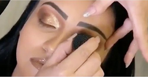 eye shadow stamp crease make precise eyeshadow in seconds by Sela