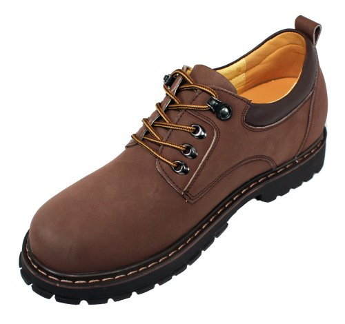 outlet locations cheap price cheap 2015 Toto F70272-3.2 Inches Taller - Height Increasing Elevator Shoes-Brown Lace up Casual free shipping pick a best v5HxPfsP