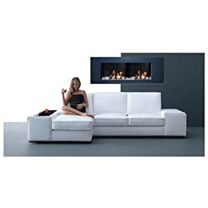 NEW Fireplace / Ethanol Fire-Place - XXL PLUS 2013 anthracite/ NEW MODEL : bionl24