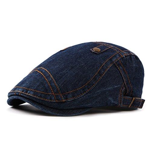 Himenqiaoz New New Fashion Beret Hats For Men Women Denim Berets Caps - Council Stores Cancer