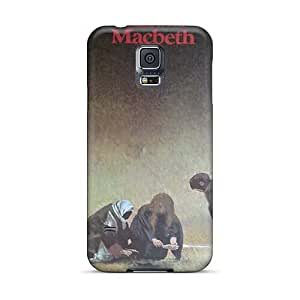 Samsung Galaxy S5 YOr5663vCTM Customized Trendy Macbeth Band Series High Quality Cell-phone Hard Covers -EricHowe