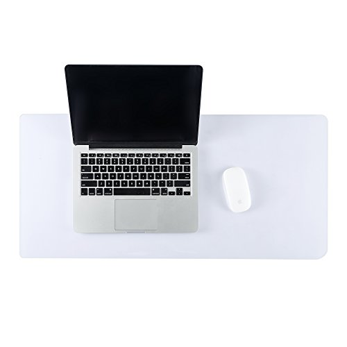 ETECHMART Clear 14 x 30 Inches PVC Office Desk Pad Writing ()