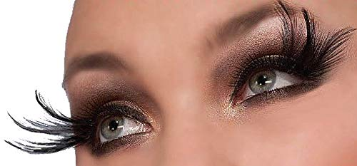 Forum Novelties Cleopatra Rhinestone Lashes, Black]()