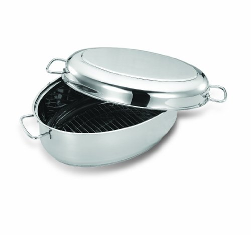 Cuisinox ROA-38 Covered Oval Roaster