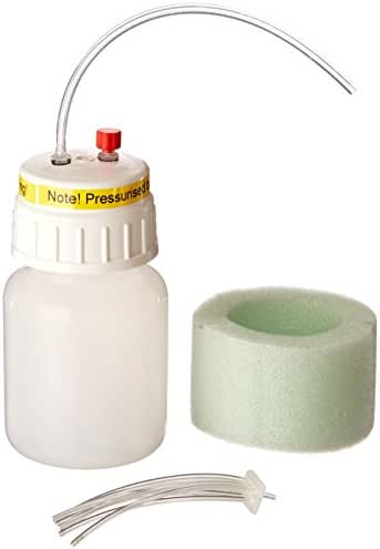 Molecular Bio Products (Auto Equip) N07489 Plastic Reagent Reservoir with Polypropylene Accessory, 250 ml Capacity