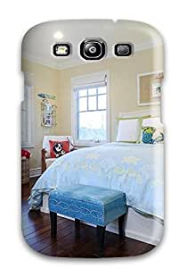 Galaxy S3 Cover Case - Eco-friendly Packaging(blue 038 Yellow Kids8217 Bedroom)