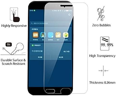 2-Pack] Protector de pantalla Xiaomi Mi 6, Sundatom HD claro ...