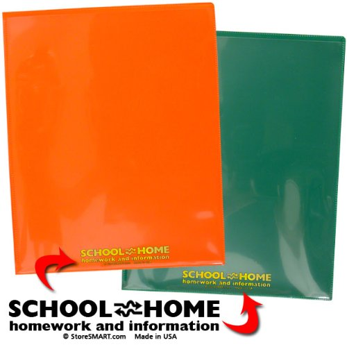 StoreSMART - Plastic School / Home Folders Archival Folders - Primary Colors 72 Pack - 12 Each of Six Bright Colors (SH900PCP72ENG) by STORE SMART (Image #6)