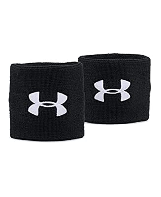 """Under Armour Men's 3"""" Performance Wristband - 2-Pack"""