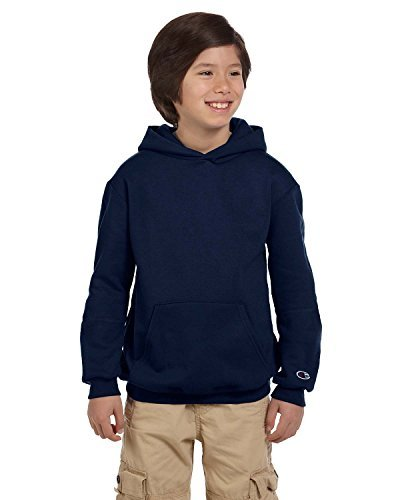 (Champion Youth Eco Youth 9 Oz. Pullover Hood, Large,)