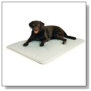 K&H Pet Products Cool Bed III Cooling Dog Bed Large Gray 32