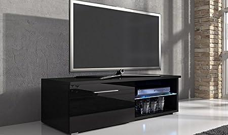 Mueble Home Source para televisor con unidad de luces led y espacio de mando a distancia: Amazon.es: Hogar