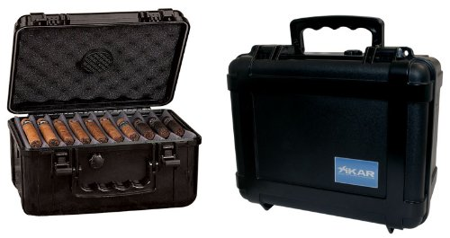 $85.00 travel humidors Xikar 50-80 Cigar Travel Humidor 2019