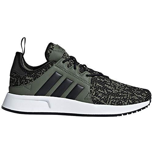 adidas Originals Kids Boy's X_PLR J (Big Kid) Base Green/Black/White 3.5 M US Big Kid