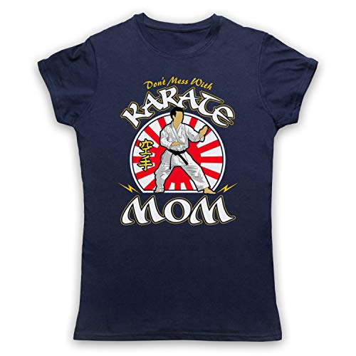 Icon Mom Karate Clothing Marino Para amp; Arts Mess Art With Don't Expert Mujer Azul Martial My Camiseta 1w8dS0qS
