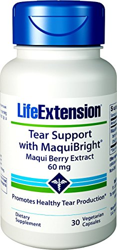 Life Extension Tear Support with Maquibright 60 mg, 30 Vegetarian Capsules