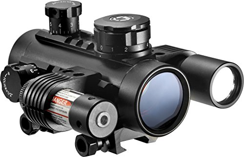 1x30 Electro Red Dot Sight with Flashlight & Laser (M4 Optics What's Best)