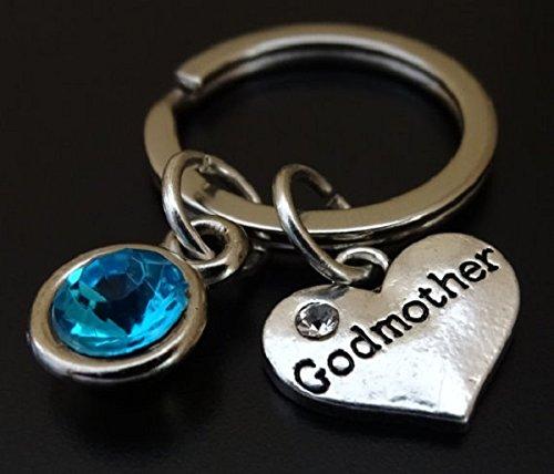 Godmother Keychain Charm Pendant Key Chain Gift