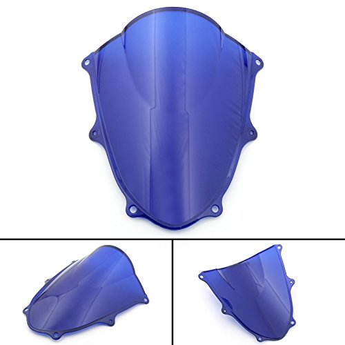 Areyourshop Windshield WindScreen For Suzuki GSXR 1000 GSXR1000 K17 2017-2018, Blue