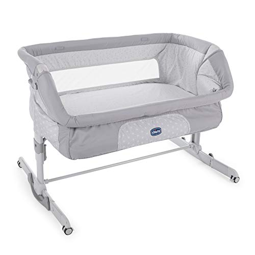 Sweetpea Baby Fairview 4 in 1 Convertible Crib in Silver Grey Pearl