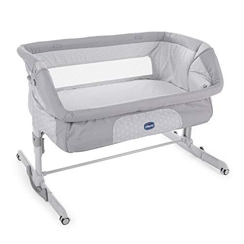 Chicco 2019 Side Sleeping Crib Next2Me Dream Luna Grey Baby Side Sleeping Crib Swing Function Brand New