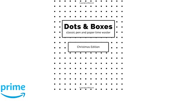 Amazon Com Dots And Boxes Classic Pen And Paper Time Waster
