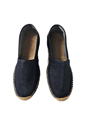 B&C Herren Espadrille /Men Espadrille /men Deep Blue Denim 45