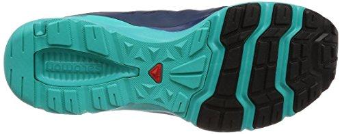 Salomon Azul para W Senderismo XA Zapatillas Mujer Blue Medieval de Ceramic Amphib Sky 000 Night rxwR4rqB