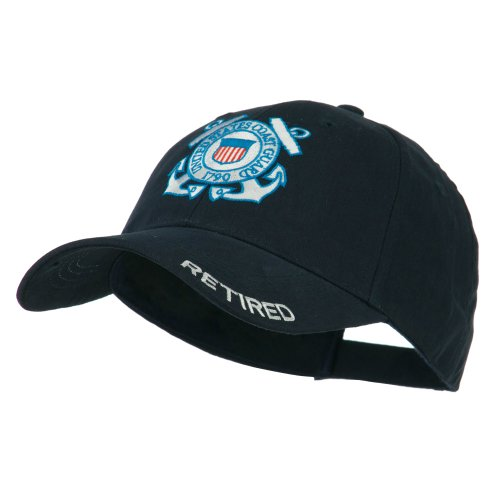 - US Coast Guard Constructed Military Cap - Retired OSFM