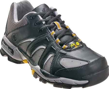 Nautilus 1333 ESD No Exposed Metal Safety Toe Athletic Shoe,Black/Grey,9 M US