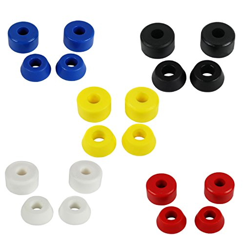 (Dime Bag Hardware Skateboard Truck Bushings 20-Pack for Venture Independent Thunder Soft Med Hard)
